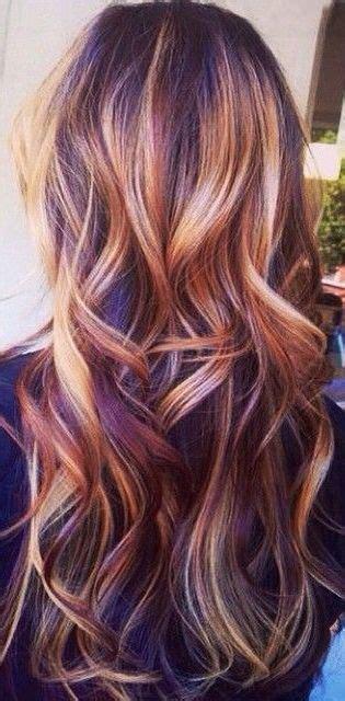Tri Color Progressive Highlight Wonderful Fall Look Color Highlights Asymmetric Shorthair 25 Best Balayage Ideas On Balayage Balayage Hair And Burgundy