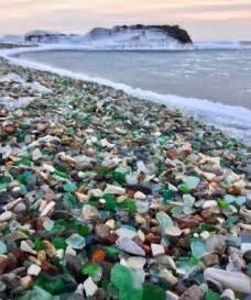 Glass Beach Russia by Russia S Sea Glass Beach Sparkles In The Sun