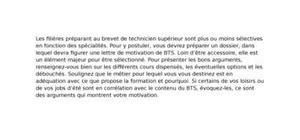 Lettre De Motivation Apb Pour Bts Nrc Exemple Lettre De Motivation Bts Nrc