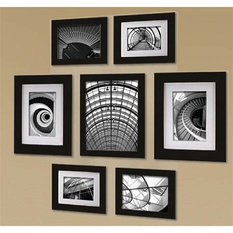 wall collage picture frames 7 opening 8 in x 10 in wall collage picture