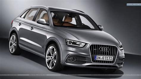Audi Q3 Quattro by 2012 Audi Q3 Quattro S Line Front Pose In Metalic Grey