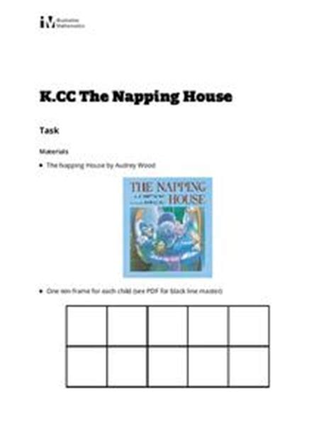the napping house lesson plans frame lesson plans worksheets reviewed by teachers