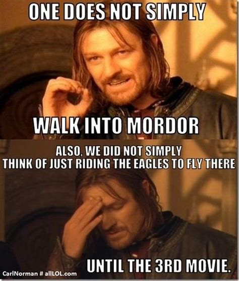 Ring Meme - what are good lord of the rings memes quora humor
