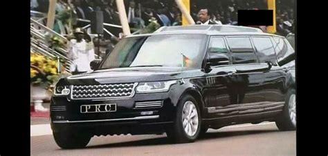 new limousine car a peek at cameroon s president paul biya limousine car