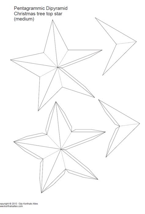 printable christmas tree topper paper christmas tree toppers