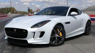 Jaguar F Series Convertible 2016 Jaguar F Type R Awd Coupe Start Up Road Test And In