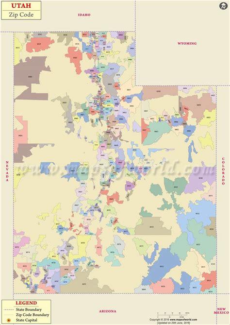 zip code map ut utah zip code map utah postal code