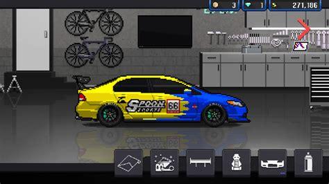 pixel car racer pixel car racer honda civic spoon na build
