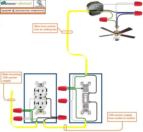 Ceiling Fan Wall Switch Installation by I Would Like To Install A Ceiling Fan In The Garage But