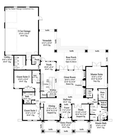 sater house plans bayberry lane sater design floorplans pinterest
