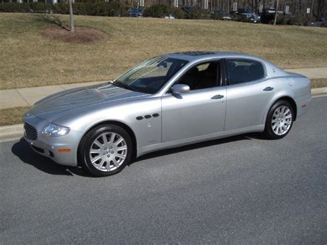 2006 maserati quattroporte 2006 maserati quattroporte for sale to purchase or buy classic