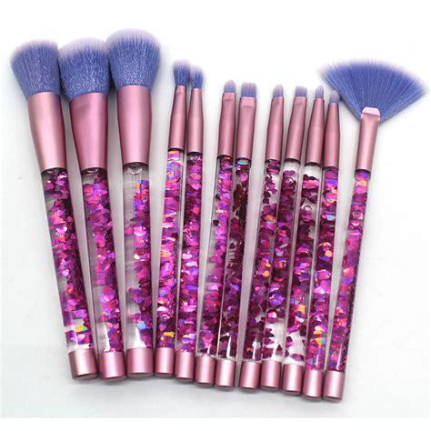 Unicorn Makeup Brush Set 7pcs Eye Makeup Kuas Makeup 12pcs glitter makeup brushes set unicorn concealer make up brush eyeshadow eye