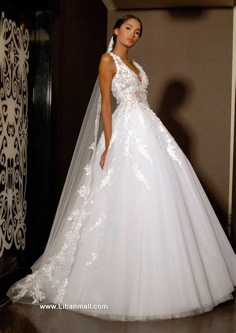 Wedding Dresses Lebanon by Ehsan Chamoun Haute Couture Fashion Designers In Lebanon