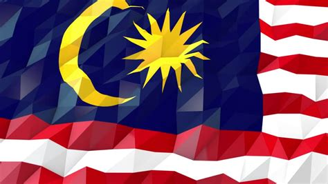 wallpaper design malaysia malaysia looping flag motion design stock footage video