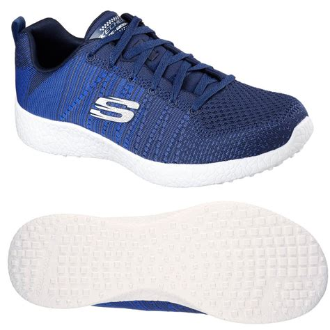 skechers sport shoes mens skechers burst in the mix mens athletic shoes