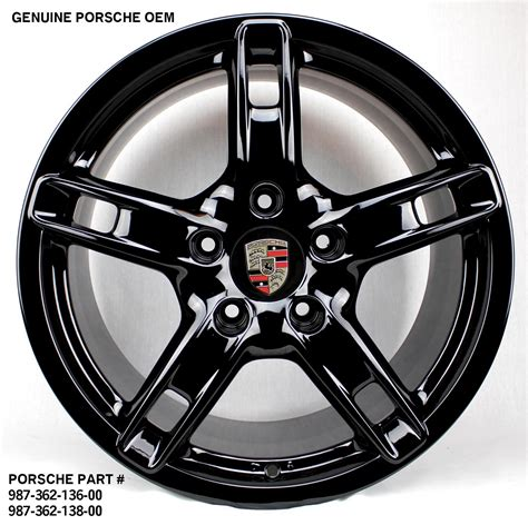 porsche oem wheels 18 quot porsche genuine oem rims wheels boxster cayman 986 987