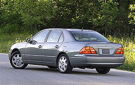 lexus sedan 2001 2001 lexus ls 430 information and photos zombiedrive