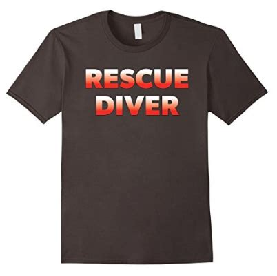 T Shirt Rescue Diver scuba diving t shirts for and great gifts for