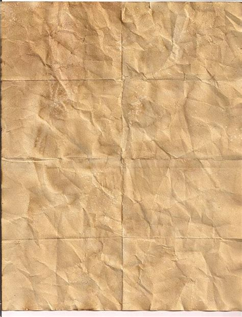 Folded Paper Texture - crumpled and folded paper textures psddude