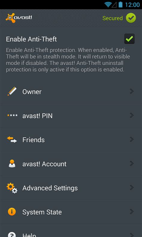 avast anti theft mobile avast anti theft 187 apk thing android apps free