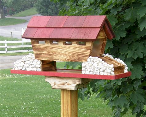 bird seed covered bird houses
