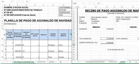 planilla de excel para previsiones de pagos planilla de pago en excel ejemplos planilla aguinaldos