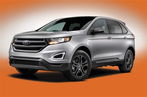 2018 Ford Edge Sport by 2018 Ford Edge Gains Sel Sport Appearance Package Motor