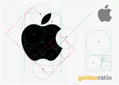 design logo with golden ratio apple s logo not based on quot golden ratio quot business insider