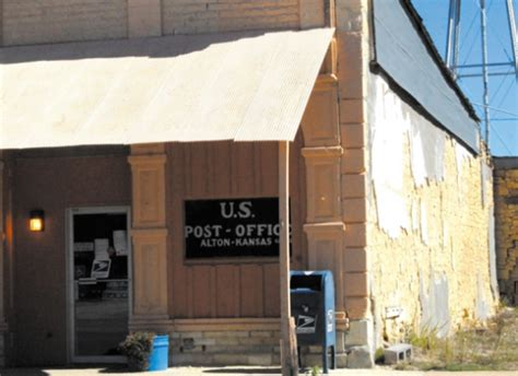 Alton Post Office by Alton Ks Post Office Suspended For Building Conditions