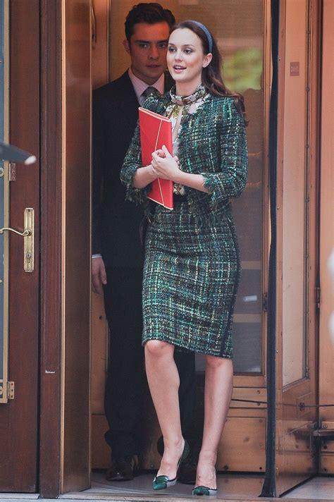 classic blair waldorf outfits  gossip girl