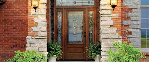 Fiberglass Exterior Doors Reviews Fiberglass Exterior Doors With Glass Home Design