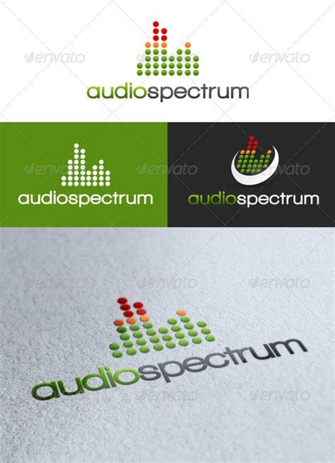 audio spectrum template 44 best images about logo design on singapore