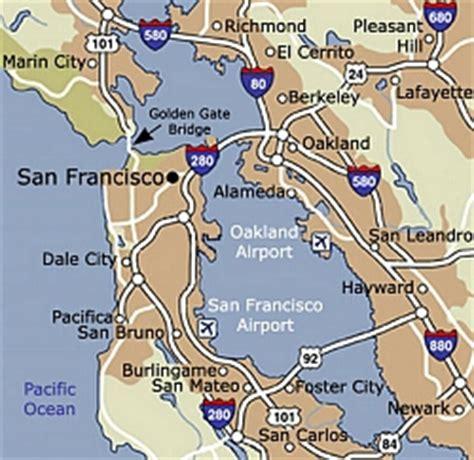 airports in san francisco map san francisco airports map michigan map