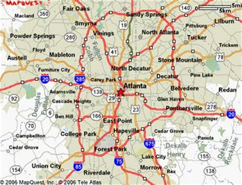 atlanta georgia surrounding area map atlanta mood pictures complex transportation network ia