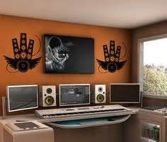 studio decor on home studios home