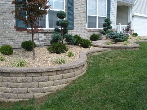 Front Garden Retaining Walls Front Yard Retaining Walls Landscaping Retaining Wall