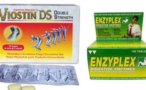 Obat Enzyplex mengandung babi bpom cabut izin viostin ds dan enzyplex