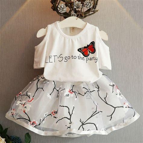 2 Pcs Set Pakaian Anak Perempuan 3 t bayi pakaian promotion shop for promotional 3 t bayi