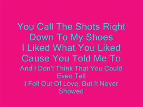 lyrics to doll house dollhouse lyrics youtube