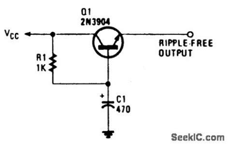 capacitance multiplier ripple filter capacitance multiplier ripple filter 28 images ripple electrical capacitance multiplier