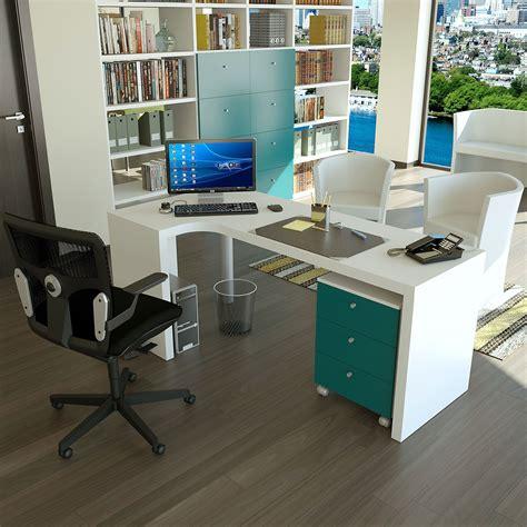 scrivania angolo scrivania angolare su misura almond arredaclick