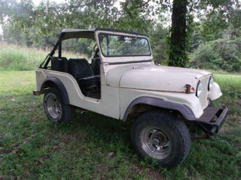 1968 Jeep Cj5 Find New 1968 Jeep Cj5 In Marshall Arkansas United States
