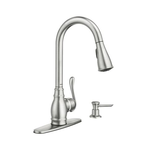 how do i tighten my moen kitchen faucet handle wow