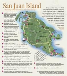 san juan map island hopping to san juan wa gt lighthouses harbors
