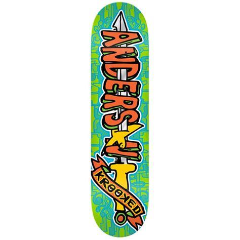 krooked deck krooked swordid skateboard deck evo