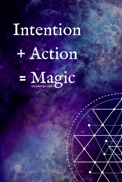 Magic Motivation how to make your intentions your reality affirmation magic quotes and wisdom