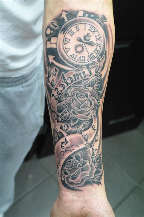 bottom half sleeve tattoo designs for forearm for images for tatouage