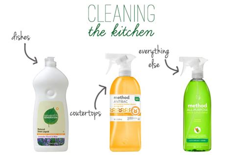 Cleaning Agents For Kitchen by Cleaning Products Kitchen Cleaning Products