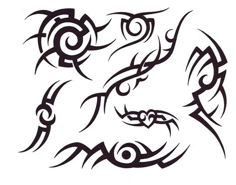 tribal pattern to draw very popular design tattoos easy tribal tattoos impressive