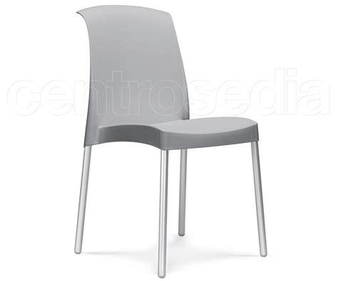 sedie alluminio design sedia alluminio polipropilene sedie design